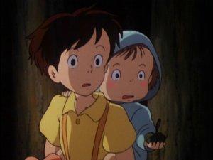Satsuki and Mei from My Neighbor Totoro