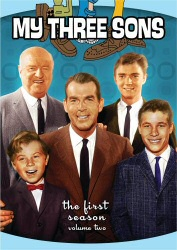 My Three Sons: The First Season, Vol. 2 DVD cover art