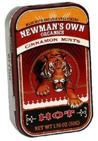 Newman's Own Organics: Cinnamon Mints