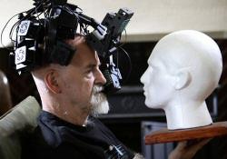 Terry Pratchett infrared helmet