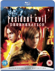Resident Evil: Degeneration Region B Blu-Ray cover art