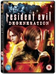 Resident Evil: Degeneration Region 2 DVD cover art