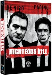 Righteous Kill DVD cover art