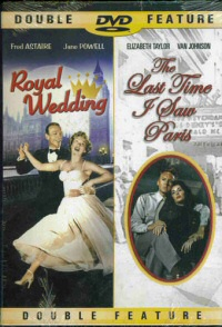 Royal Wedding/Last Time I Saw Paris DVD cover art