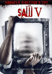 Saw V DVD cover art