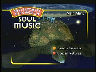 Soul Music DVD menu