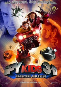 Spy Kids 3D: Game Over poster