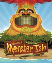 welcome to monster isle book cover