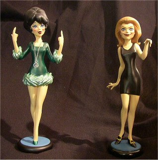 Bewitched Tooned-Up Maquette