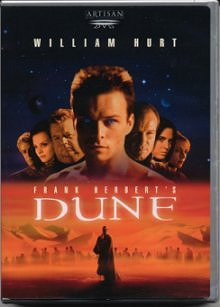 Dune miniseries DVD cover art