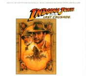 Indiana Jones and the Last Crusade soundtrack cover art