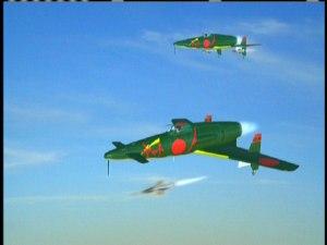 Last Days of World War II: Japanese jet CG