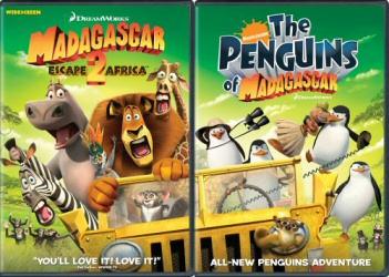 Madagascar: Escape 2 Africa DVD 2-Pack cover art