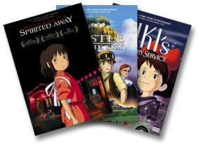Miyazaki 3 Pack DVD cover art