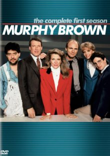 Murphy Brown: The Complete First Season DVD cover art