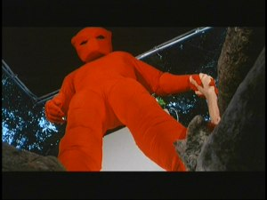 Red Suit effect shot from Predator