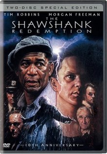 The Shawshank Redemption DVD cover art