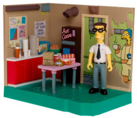 Simpsons Cafeteria playset