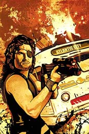 Snake Plissken Chronicles #1 cover art