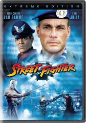 Street Fighter DVD cover art