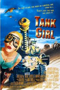 Tank Girl movie poster art