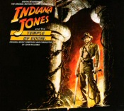 Indiana Jones and the Temple of Doom soundtrack cover art