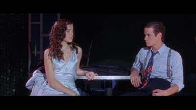 Mandy Moore and Shane West from A Walk to Remember