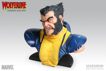 Wolverine Legendary Scale Bust from Sideshow Collectibles
