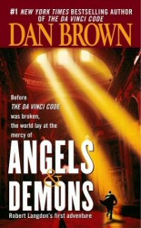 Angels and Demons book cover art