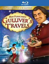 Max Fleischer Gulliver's Travels Blu-Ray cover art