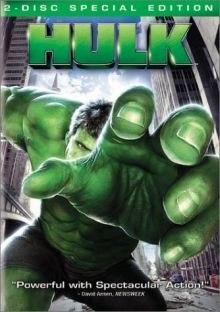 Hulk (2003) DVD cover art