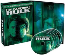 The Incredible Hulk: The Television Series Ultimate Collection DVD cover art