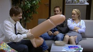 Inflatable Cock from The Office UK Season 1