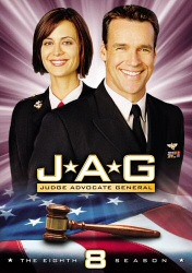 JAG: The Eighth Season DVD cover art