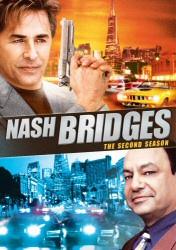Nash Bridges: The Second Season DVD cover art