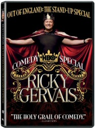 Ricky Gervais: Out of England HBO Comedy Special DVD cover art