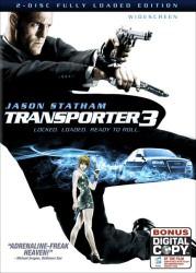 Transporter 3 DVD cover art