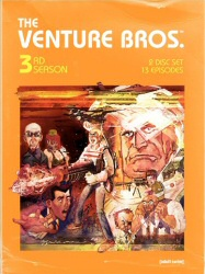 Venture Bros. Season 3 DVD cover art