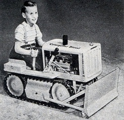 Child bulldozer
