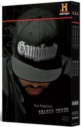 Gangland: The Complete Season Three DVD cover art