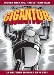 Gigantor: The Collection, Vol. 1 DVD cover art