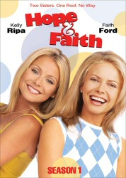 Hope and Faith: Season 1 DVD cover art