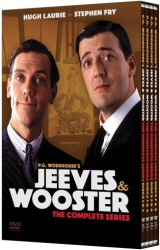 Jeeves and Wooster: The Complete Series DVD cover art