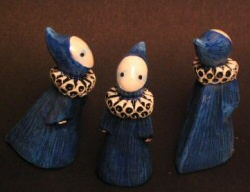 Blue Poppets by Lisa Snellings