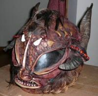 Monster Motorcycle Helmet