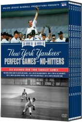 The New York Yankees: Essential Games of Yankee Stadium: Perfect Games and No Hitters DVD cover art