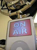 On Air light for your iPod