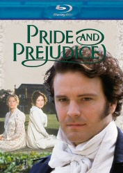 Pride and Prejudice Blu-Ray cover art