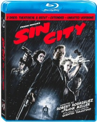Sin City Blu-Ray cover art