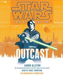 Star Wars: Fate of the Jedi: Outcast audiobook cover art